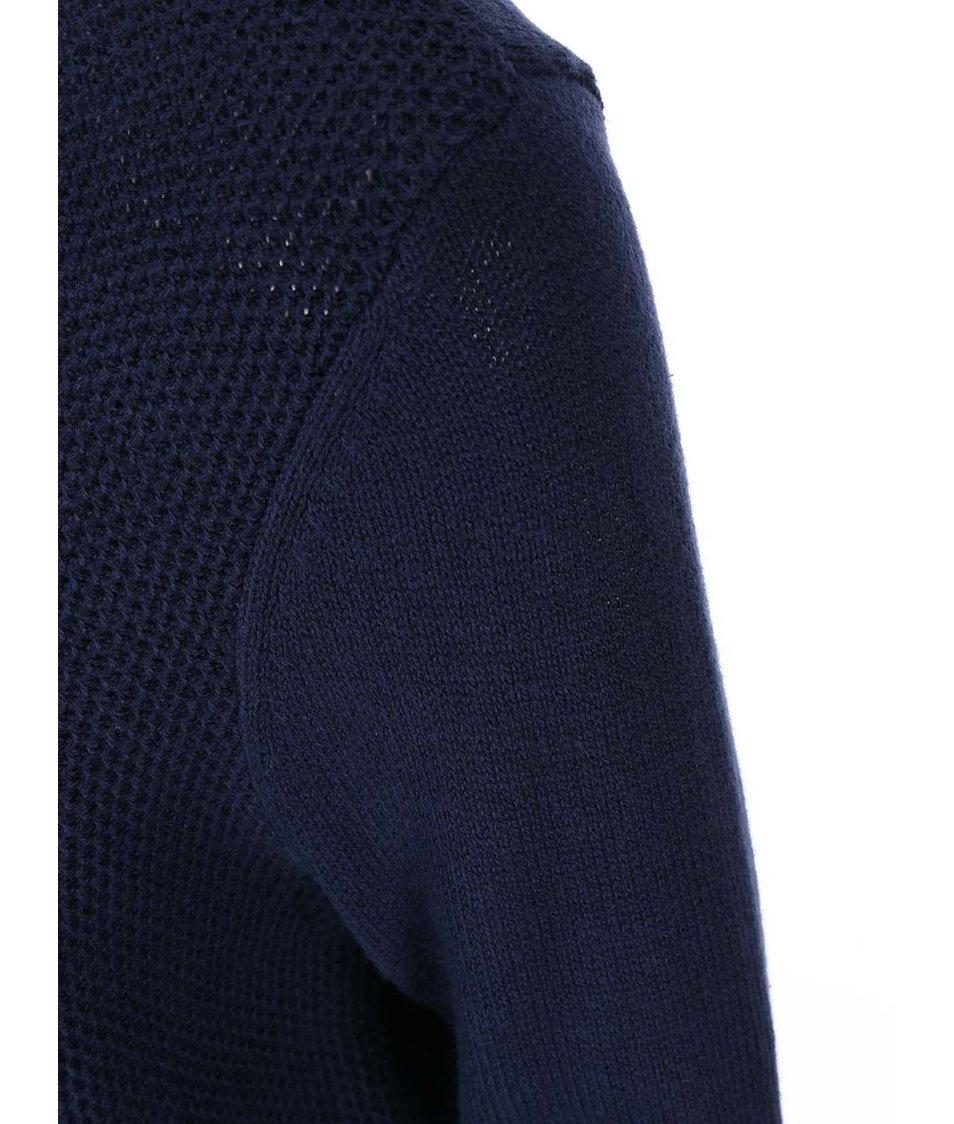 Tmavě modrý svetr se stromečkem Dorothy Perkins