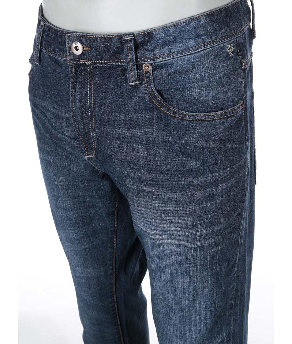 Modré džíny s ošoupaným efektem !Solid Roy
