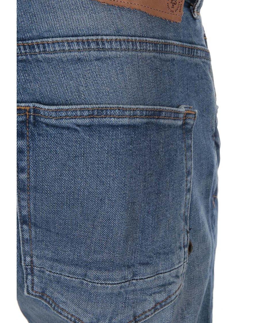 Světle modré džíny s ošoupaným efektem !Solid Frank