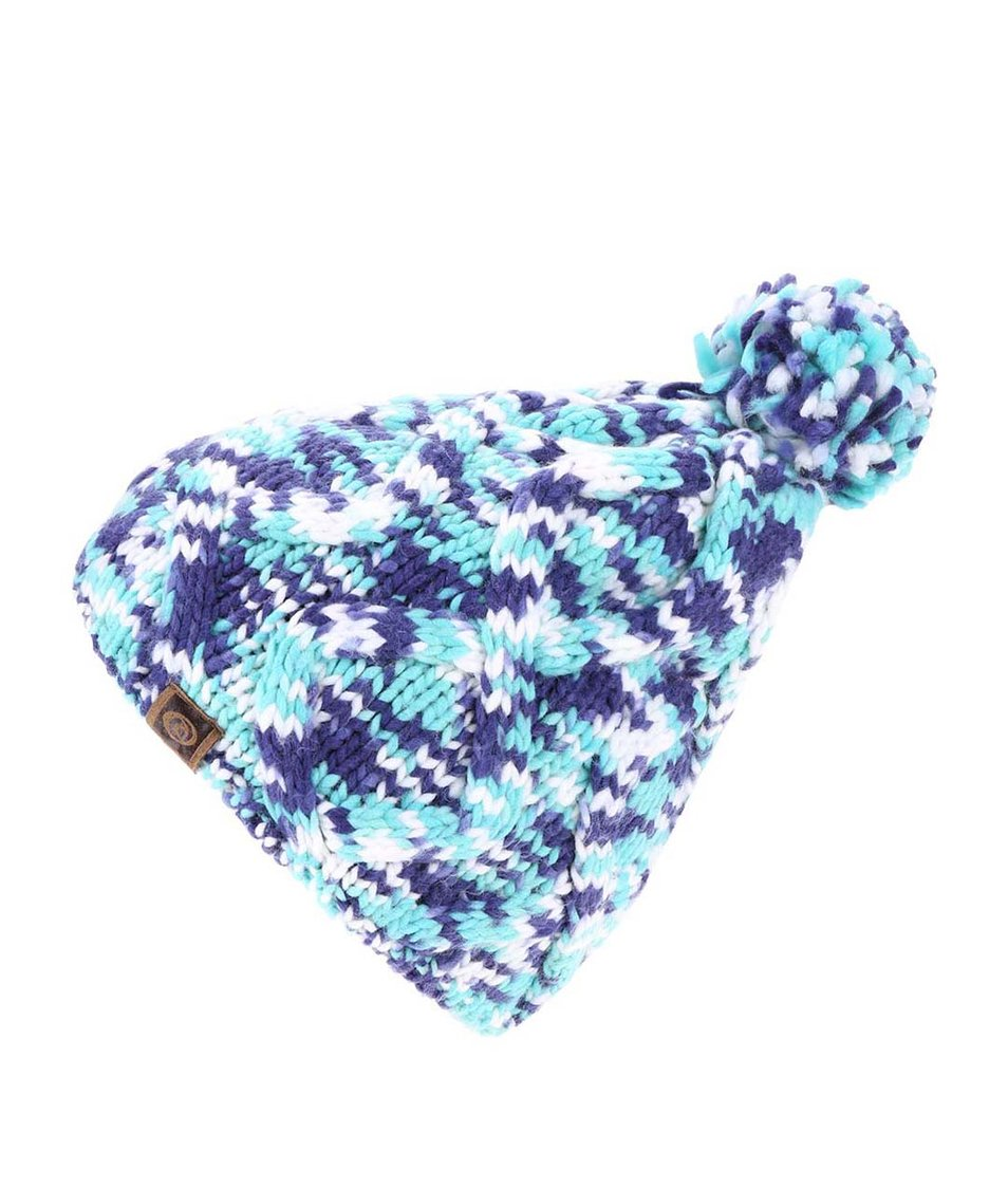 Mentolovo-modrá dámská pletená čepice Rip Curl Neottie
