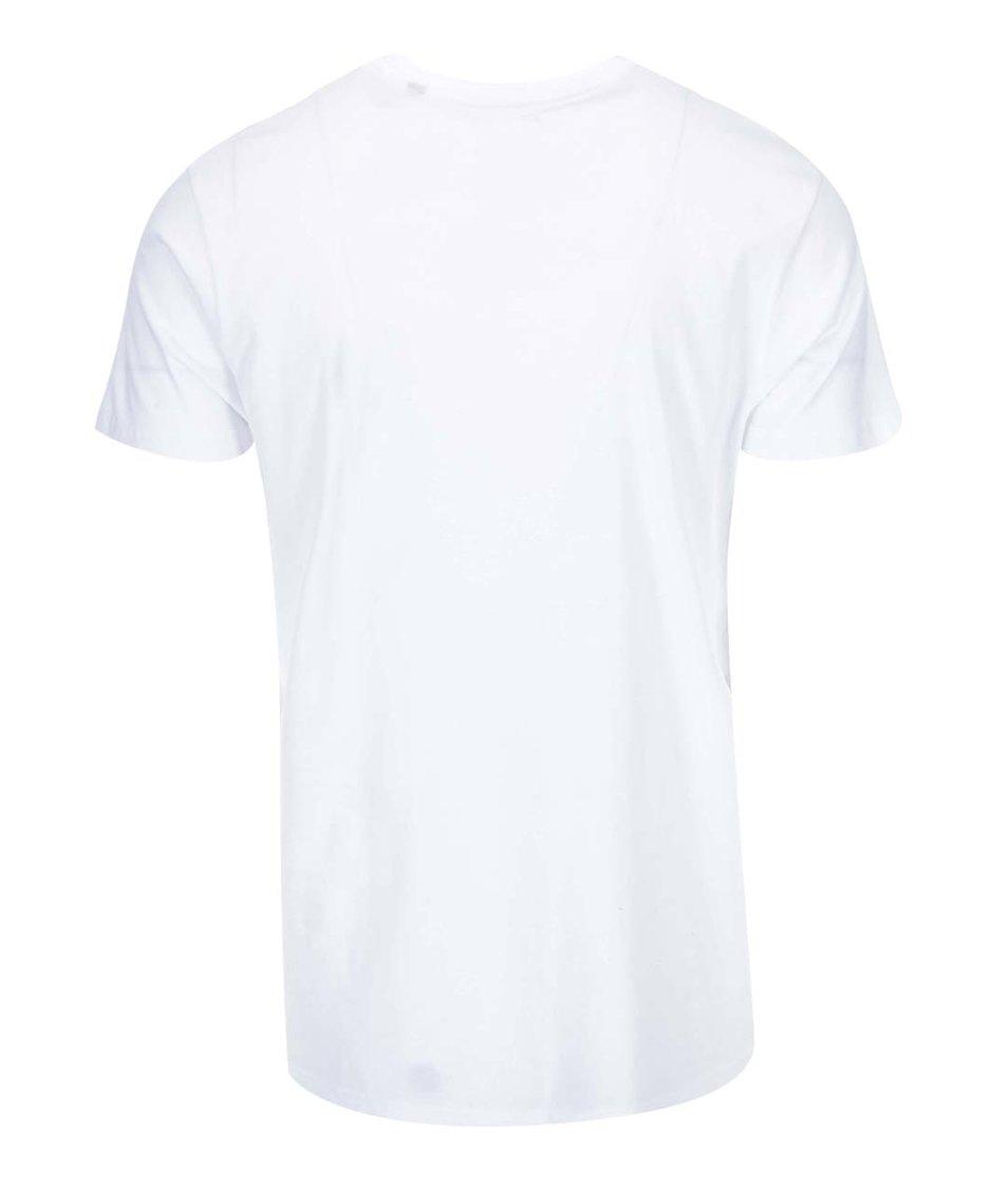 Bílé triko s vintage potiskem !Solid Shea