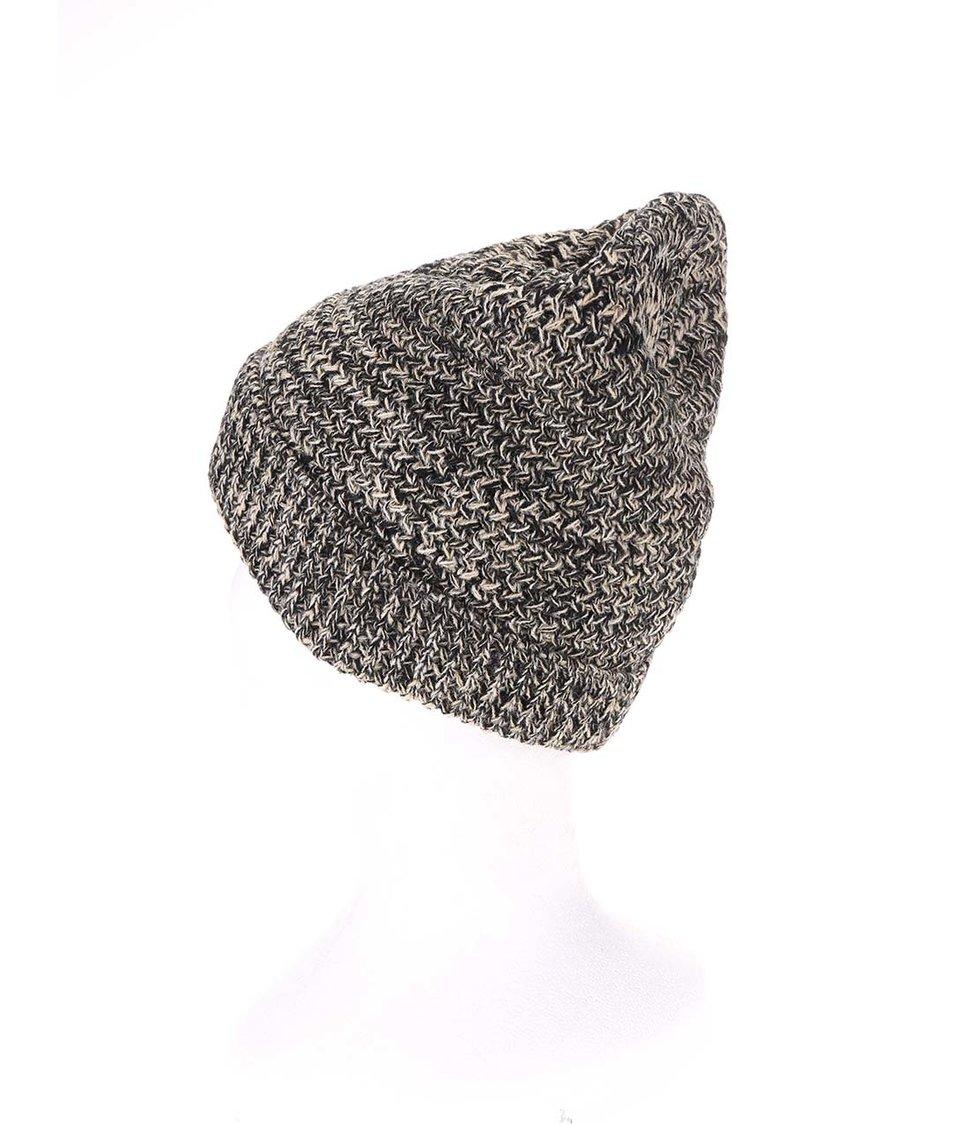 Šedo-černá dámská pletená čepice Rip Curl Urban