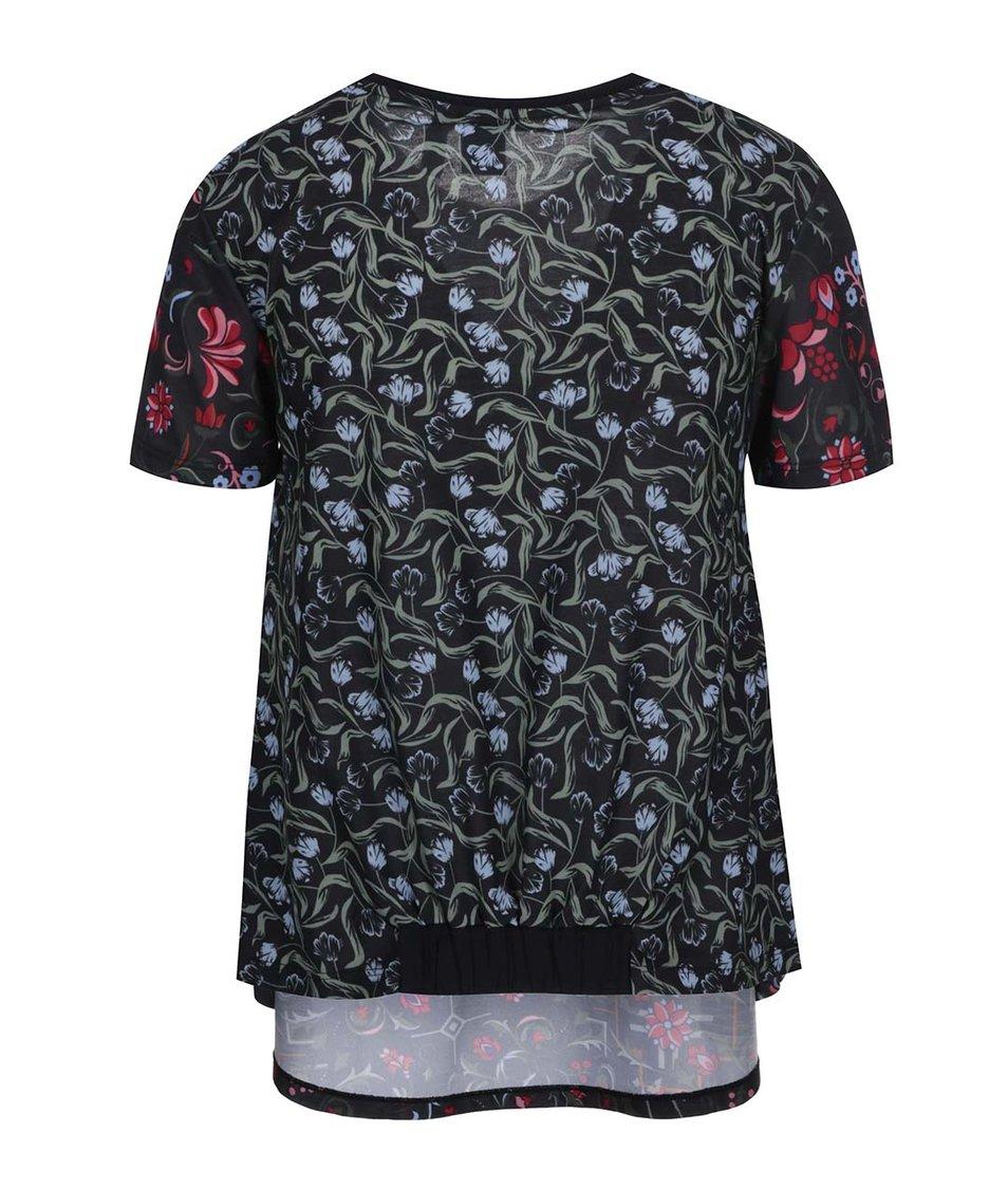 Černé dámské tričko adidas Originals Moscow