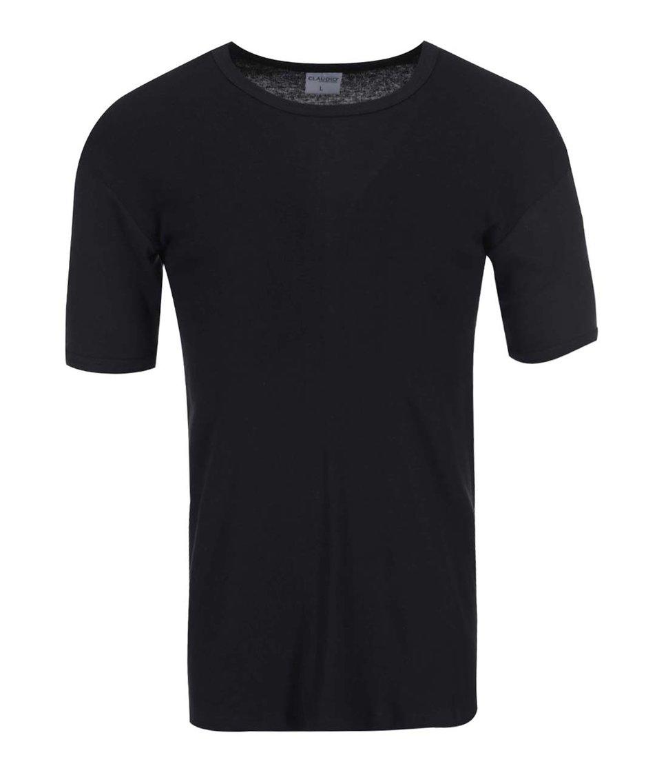 Černé triko pod košili Claudio Classic