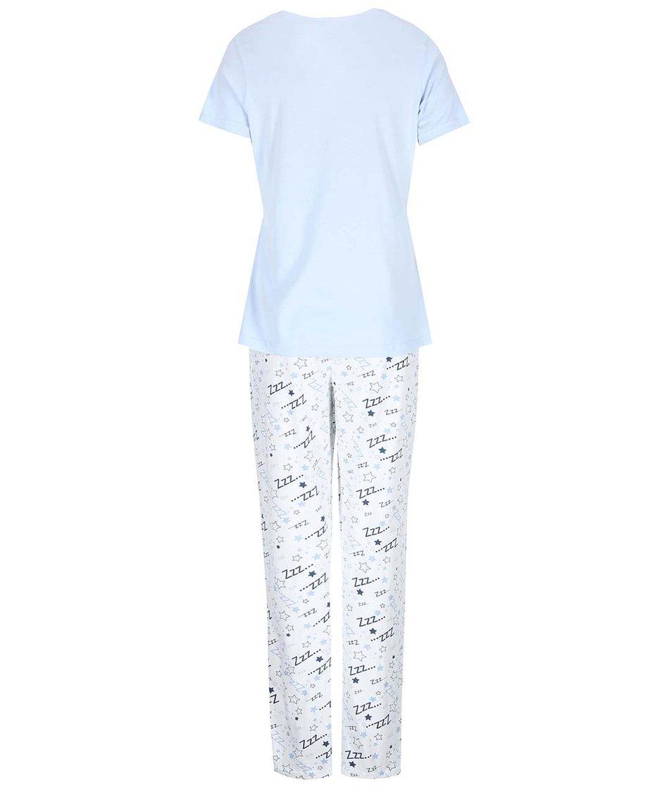 Bílo-modré pyžamo Dorothy Perkins