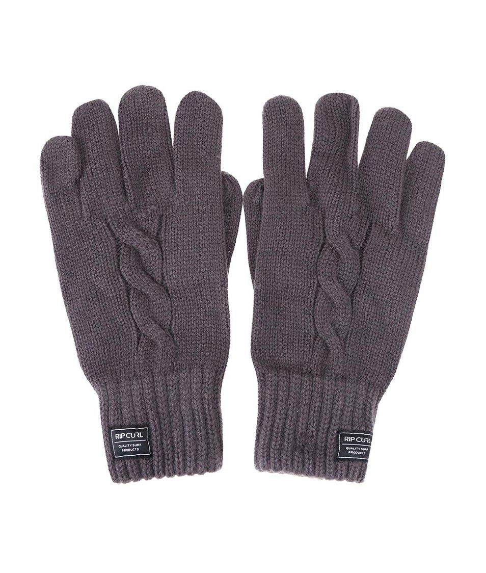 Tmavě šedé pánské rukavice Rip Curl Cable