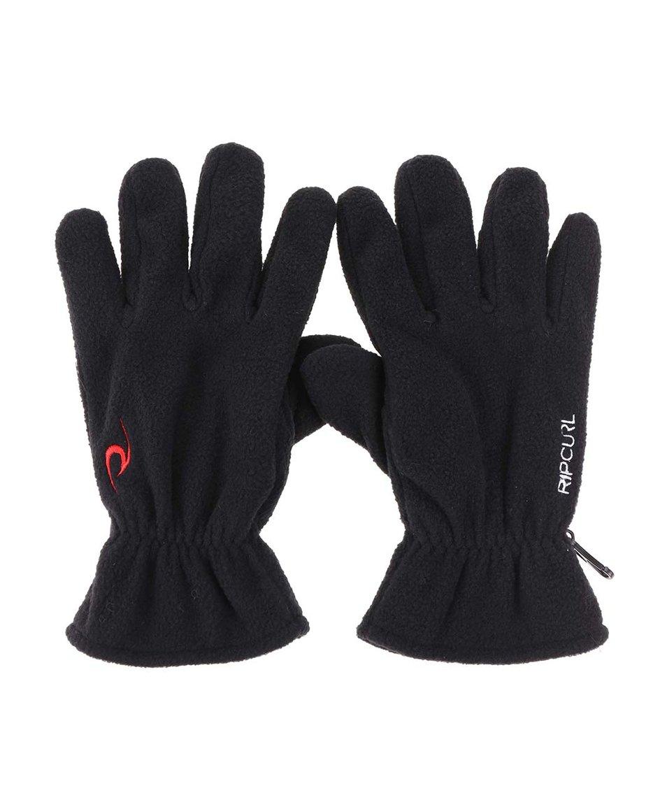Černé pánské rukavice Rip Curl Polar