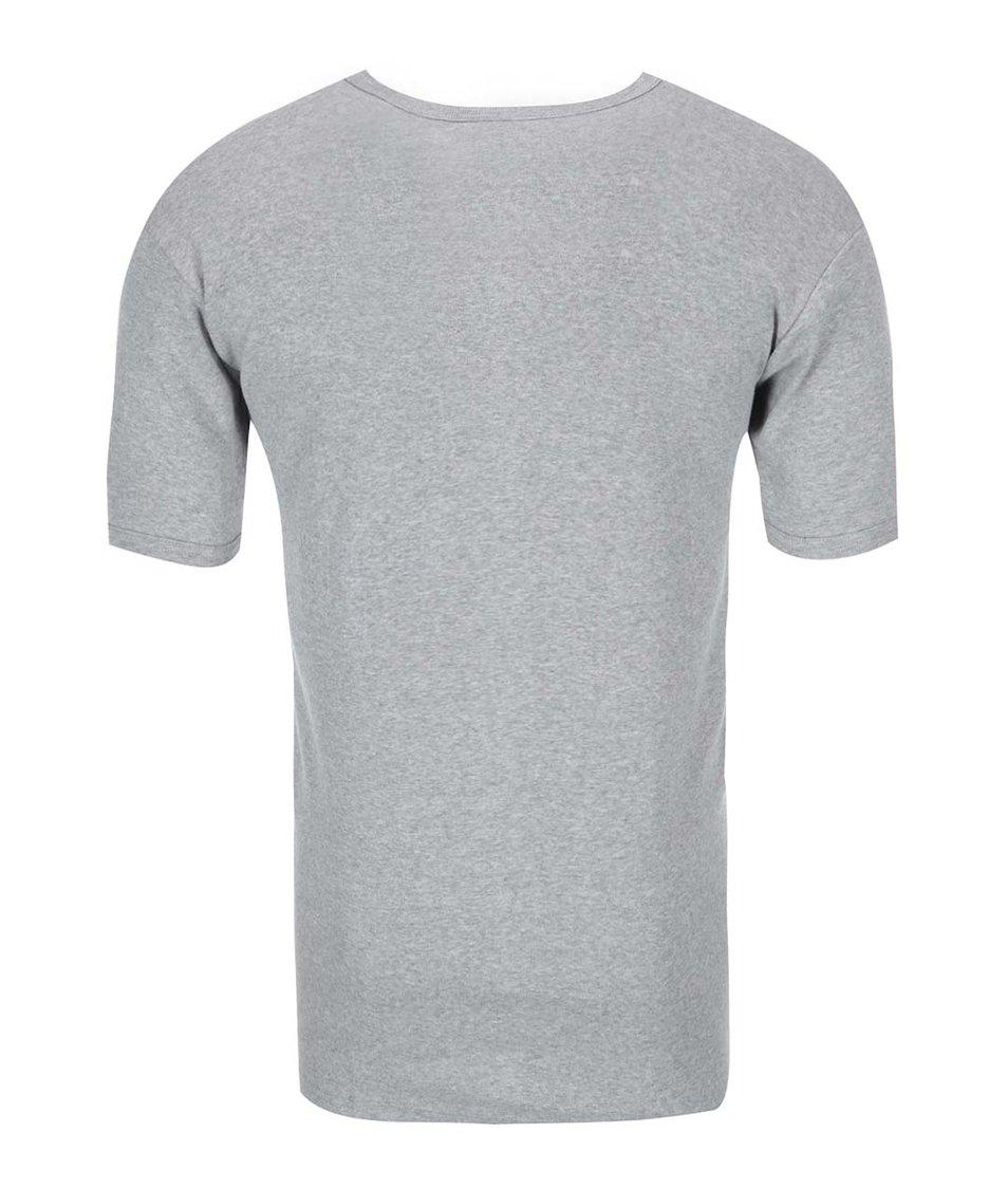 Šedé pánské triko pod košili Claudio Classic