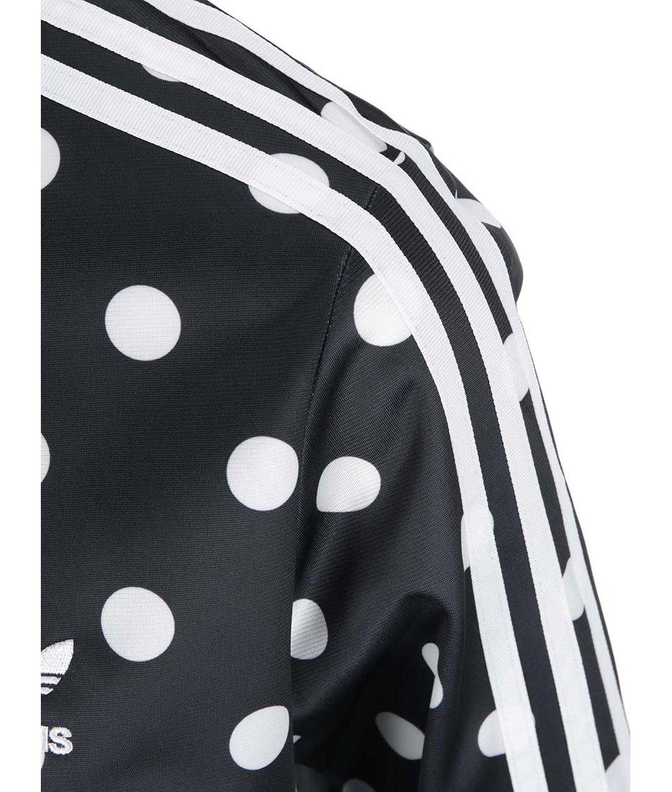 Černá dámská puntíkovaná bunda adidas Originals Firebird