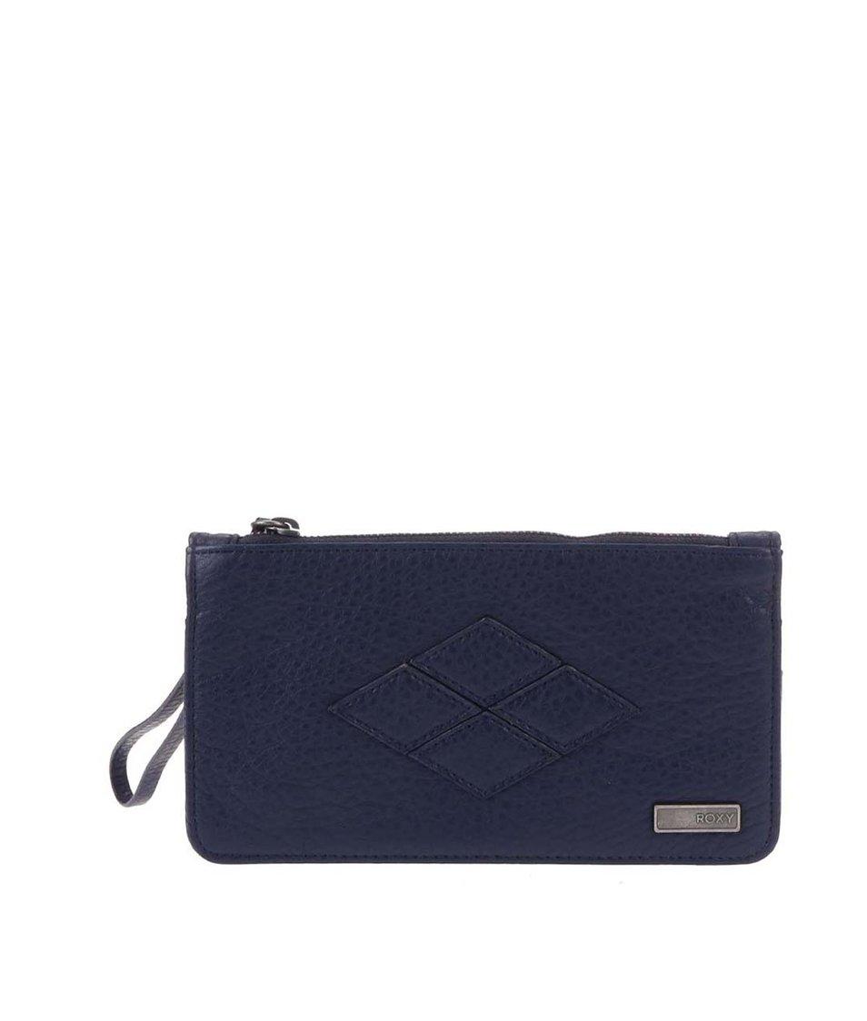 Tmavě modrá prošívaná peněženka Roxy Atoll