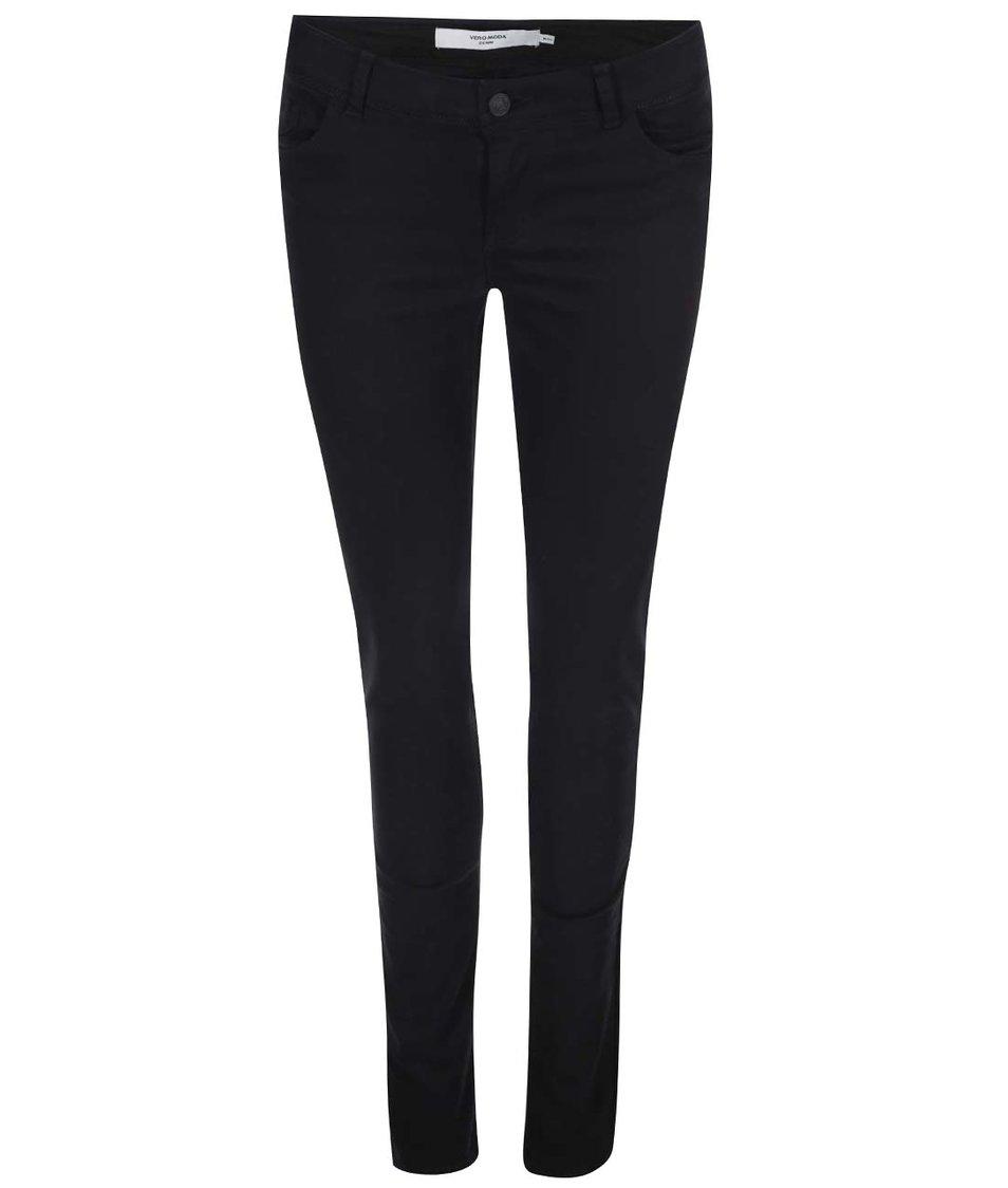 Černé slim kalhoty Vero Moda Five