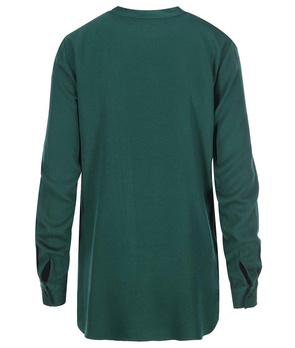 Zelená košile Vero Moda Measy