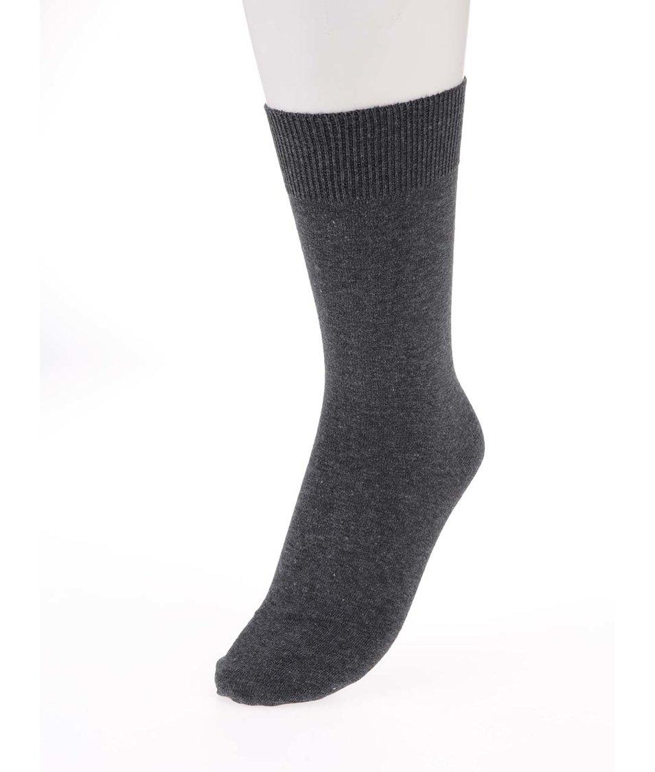 Šedé ponožky Claudio