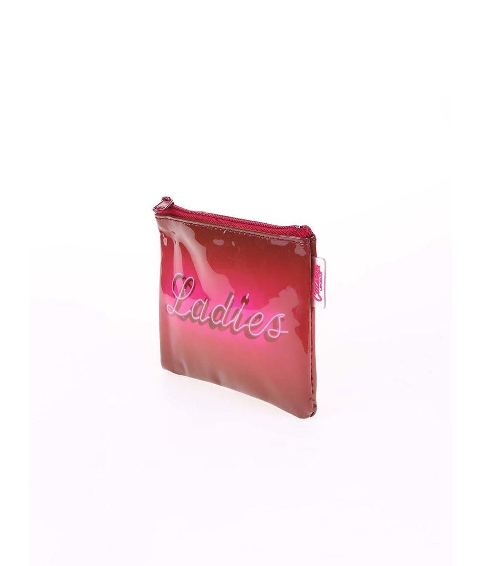 Růžová peněženka na drobné Catseye London Ladies