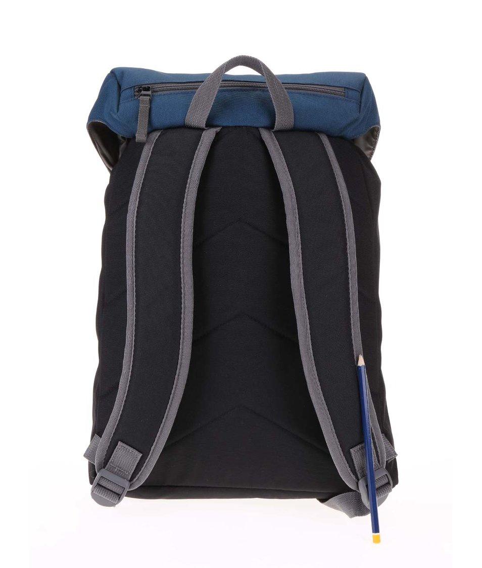Modro-černý batoh s přezkami Ridgebake Hook