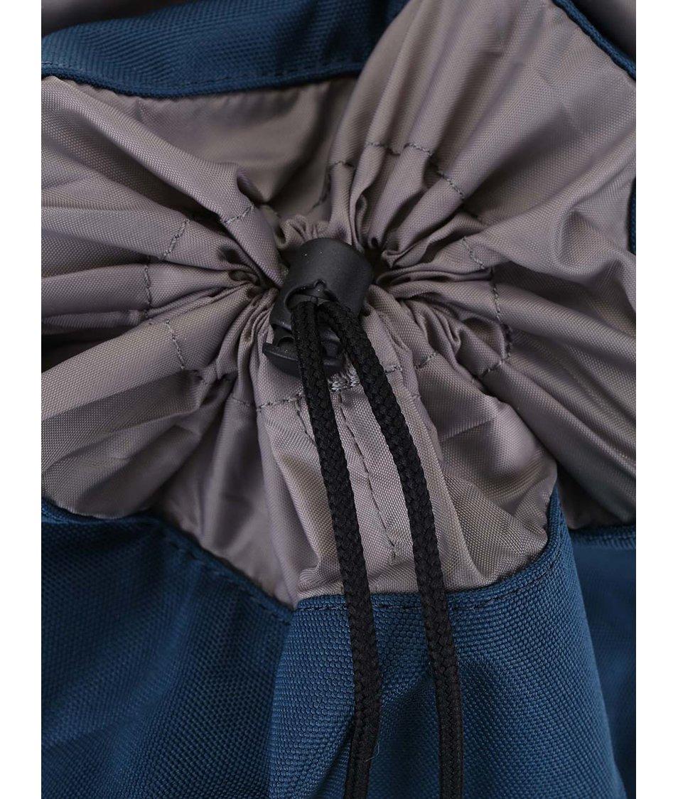 Vínovo-modrý středně velký batoh s přezkami Ridgebake Hook