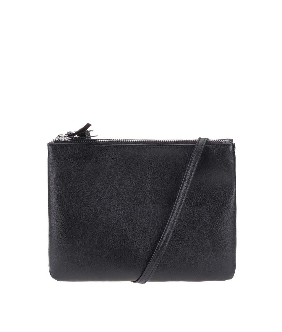 Černá kabelka přes rameno Pieces Celcina