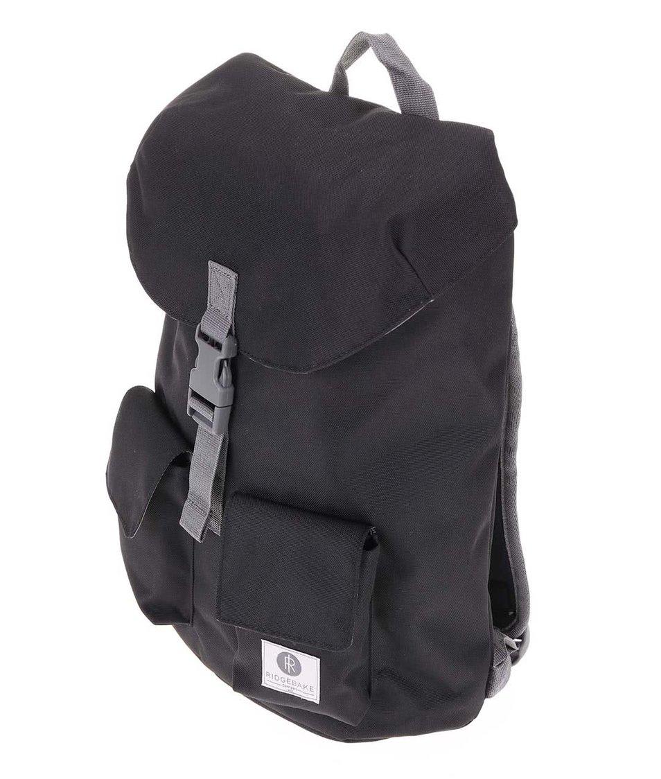 Šedo-černý středně velký batoh Ridgebake Glance