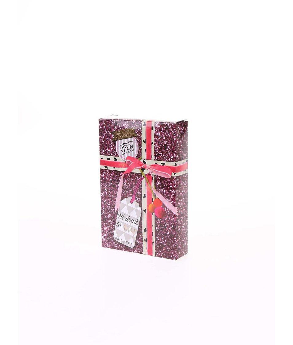 Růžová placatka à la vánoční dárek Disaster Pom Pom Tutti