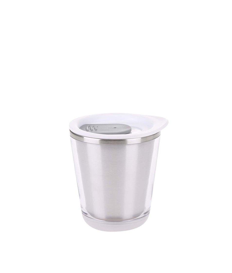 Bílo-šedý cestovní hrnek XD Design Dia