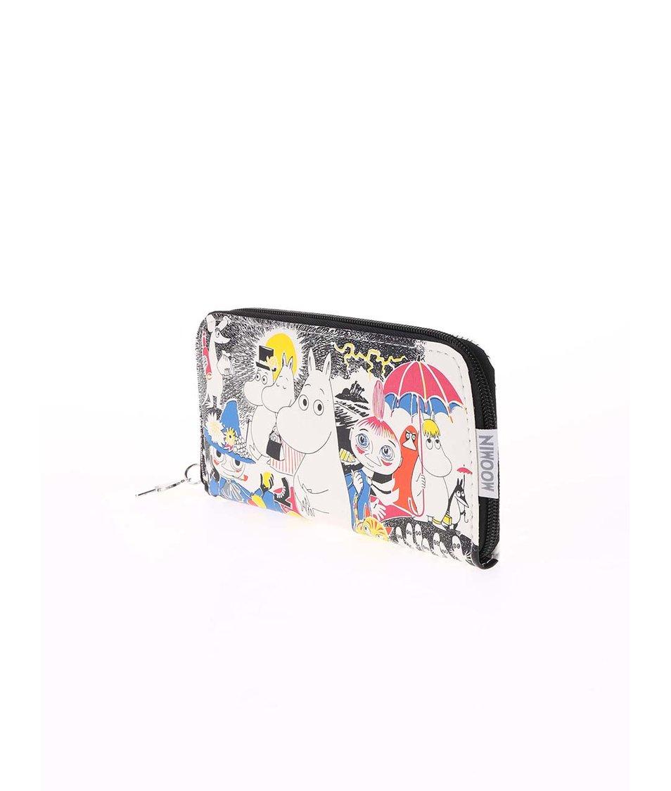 Barevná peněženka s Mumínky Disaster Moomin Comic