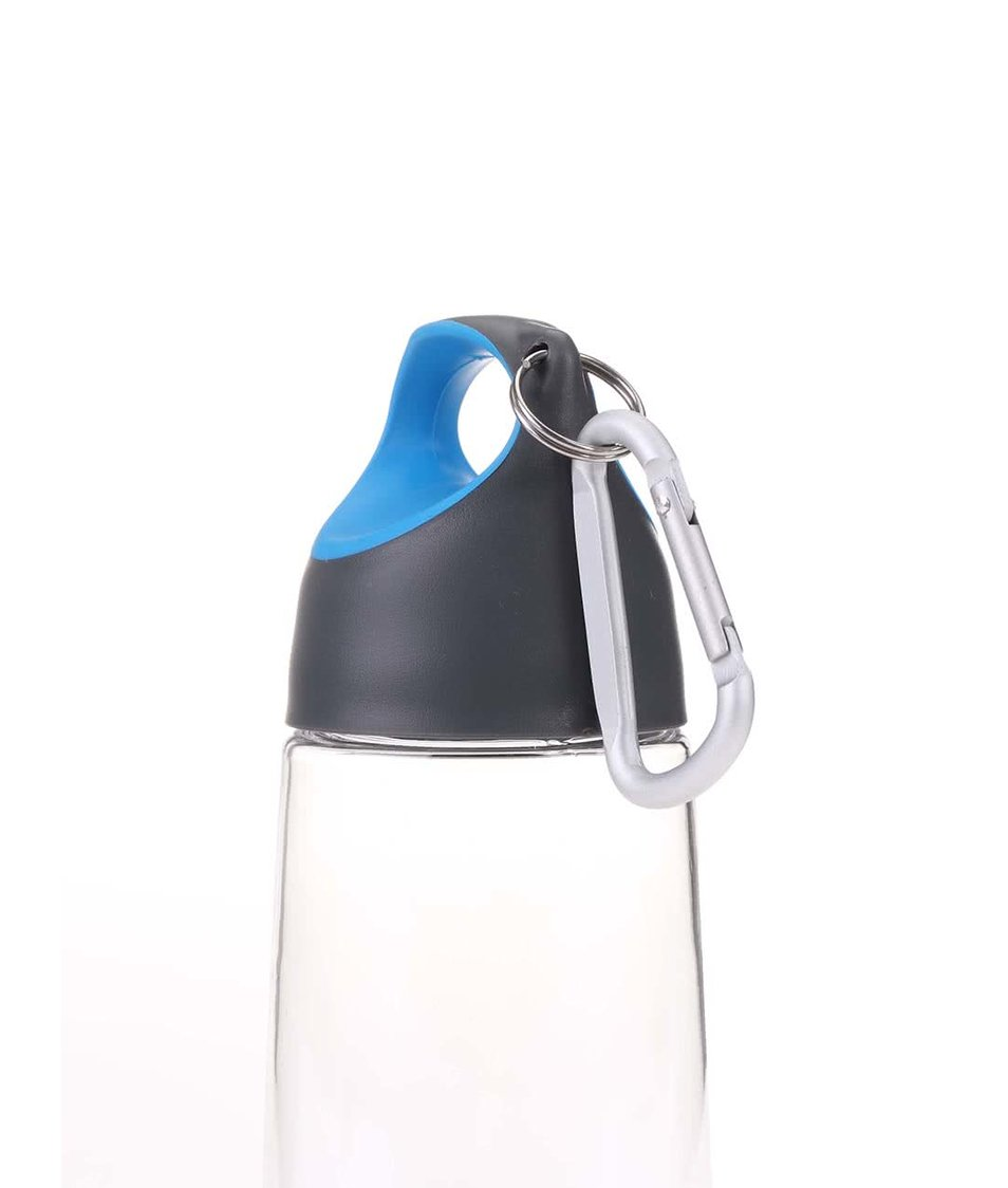 Modro-šedá láhev s karabinou XD Design Bopp Mini