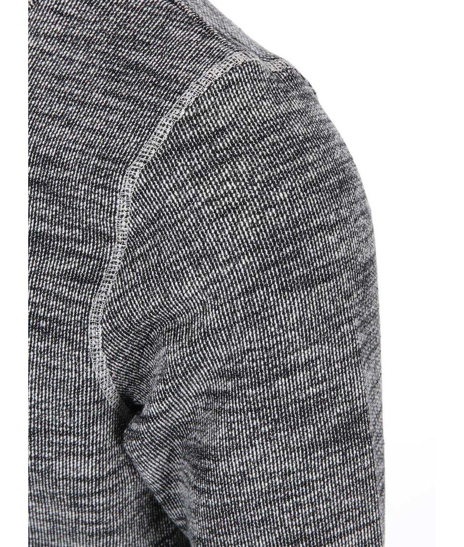 Krémovo-šedý žíhaný svetr Jack & Jones Lock