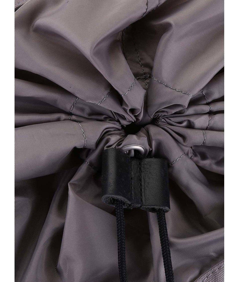 Černo-šedý větší batoh s kapsami Ridgebake Liam