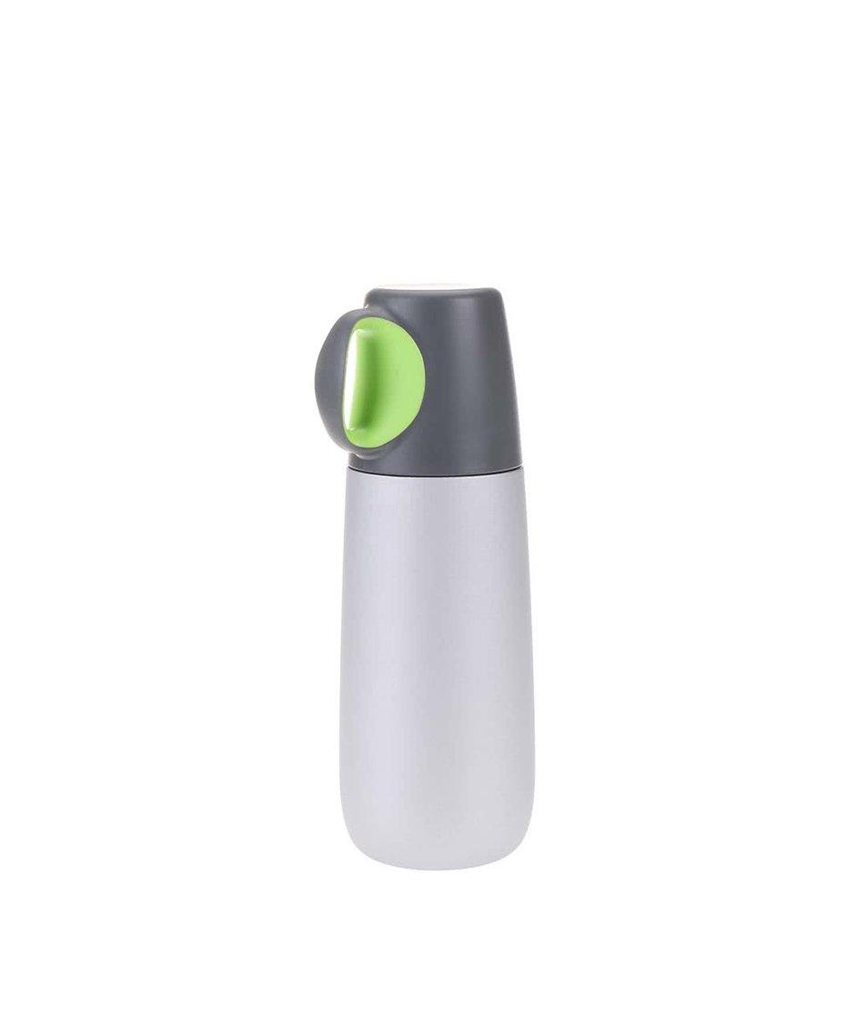 Zeleno-šedá termoska XD Design Bopp Hot
