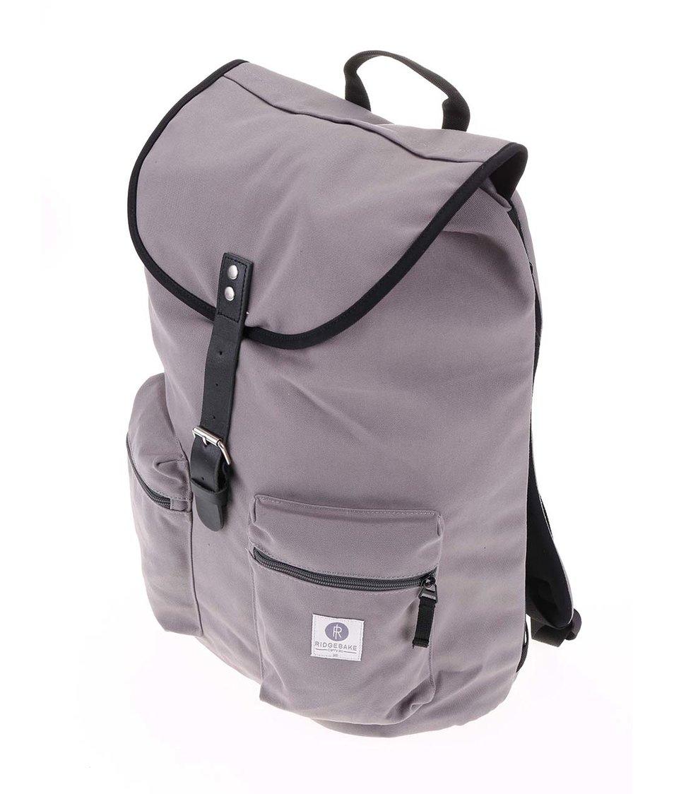 Černo-šedý větší batoh s kapsami Ridgebake Kay