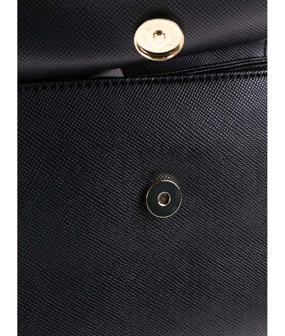 Černo-krémová menší kabelka ALDO Quargnento