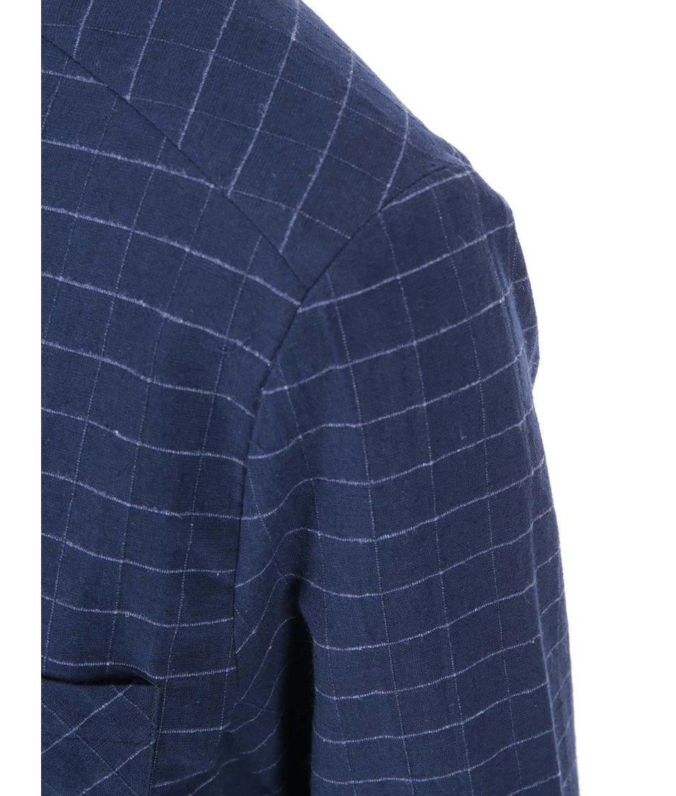 Tmavě modrá volnější košile VILA Calio