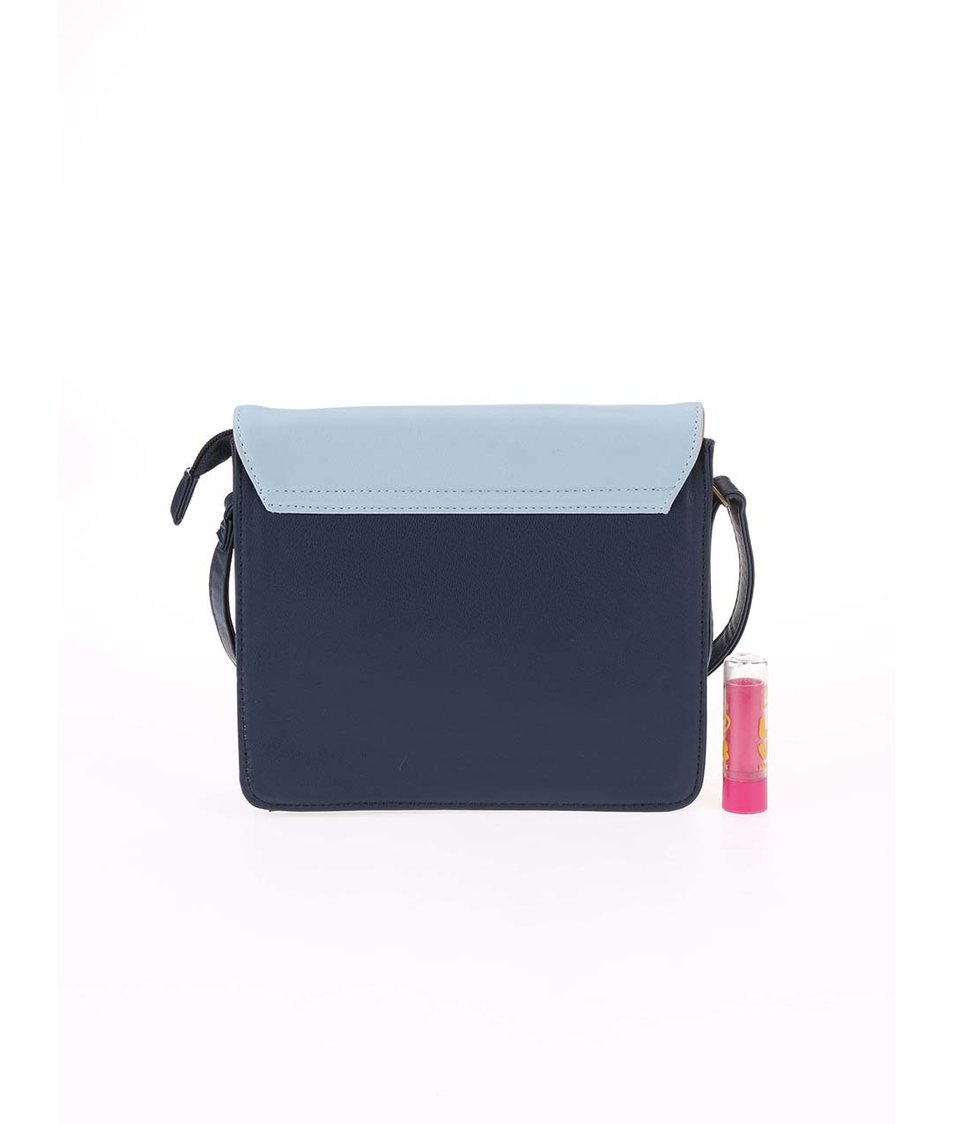 Modrá malá kabelka s potiskem Disaster Collective Noun