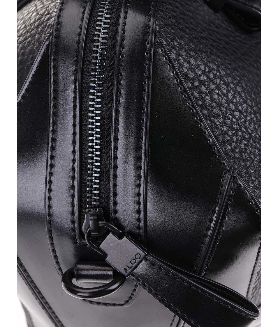 Černá kabelka s ozdobnou kapsou ALDO Domodossola