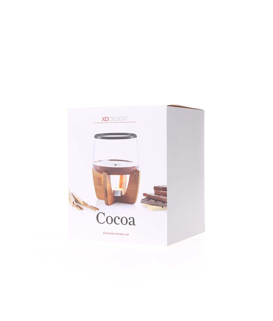 Fondue set na čokoládu XD Design Cocoa