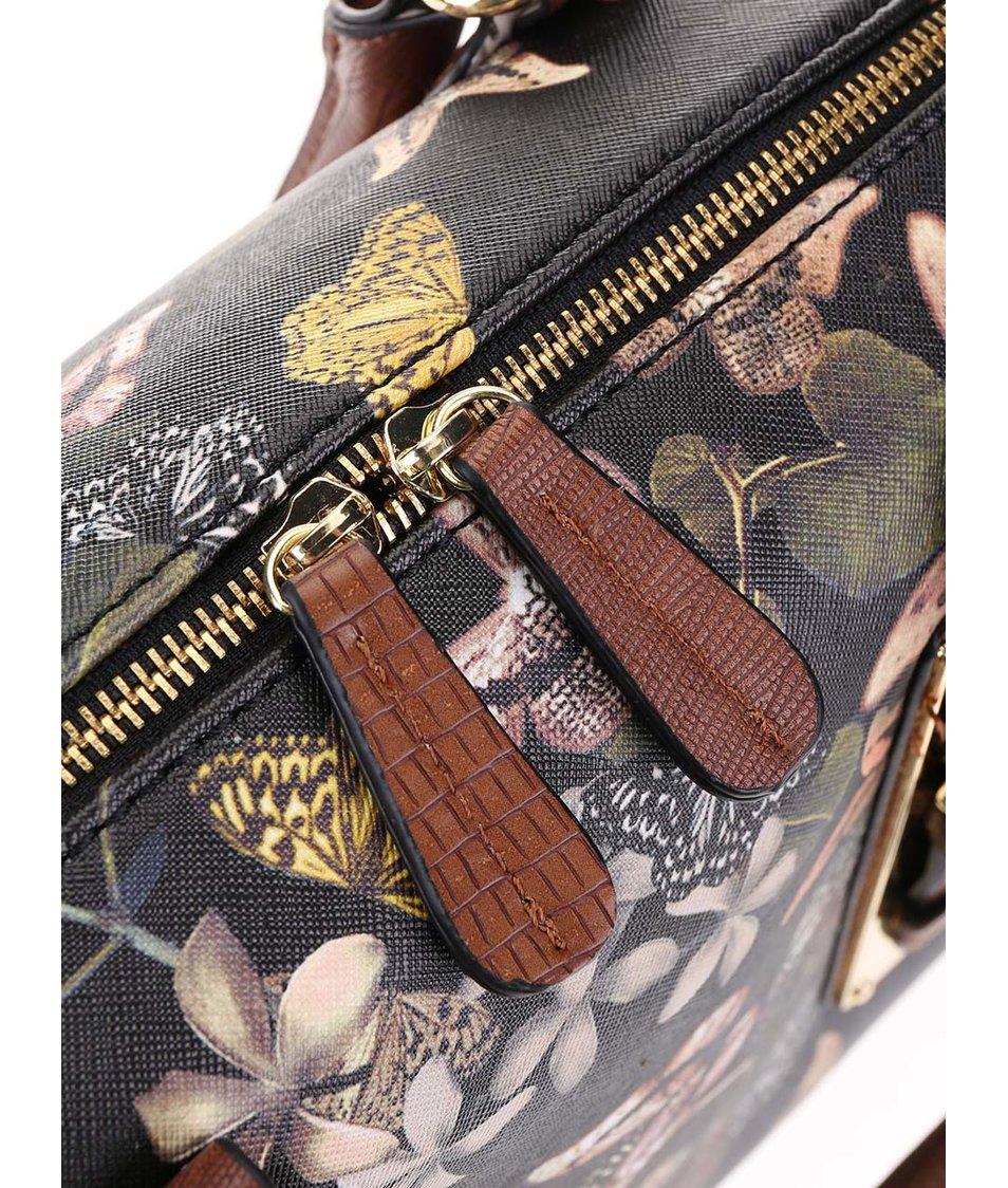 Černá kabelka s motýlím potiskem ALDO Westerling