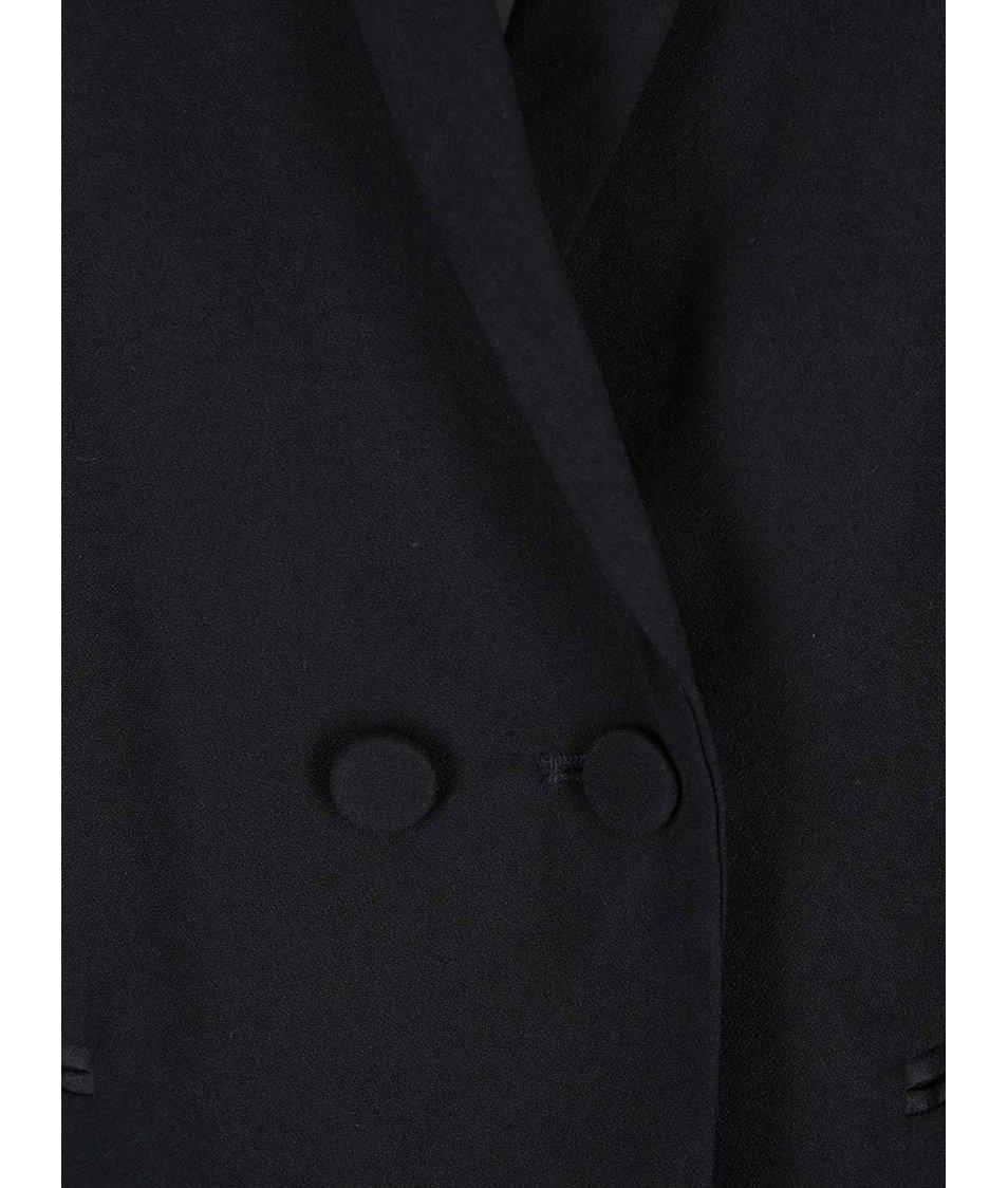 Černá elegantní vesta VILA Adele