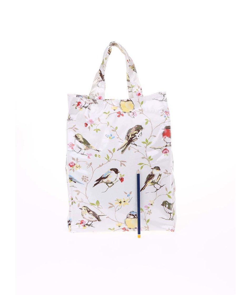 Krémová taška s ptáčky Cooksmart Dawn Chorus
