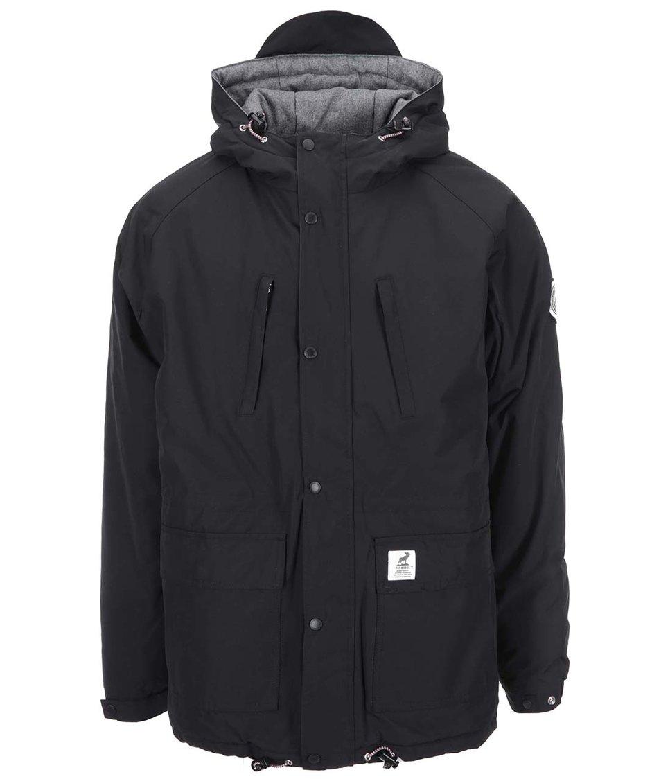 Černá zimní bunda Fat Moose Innercity
