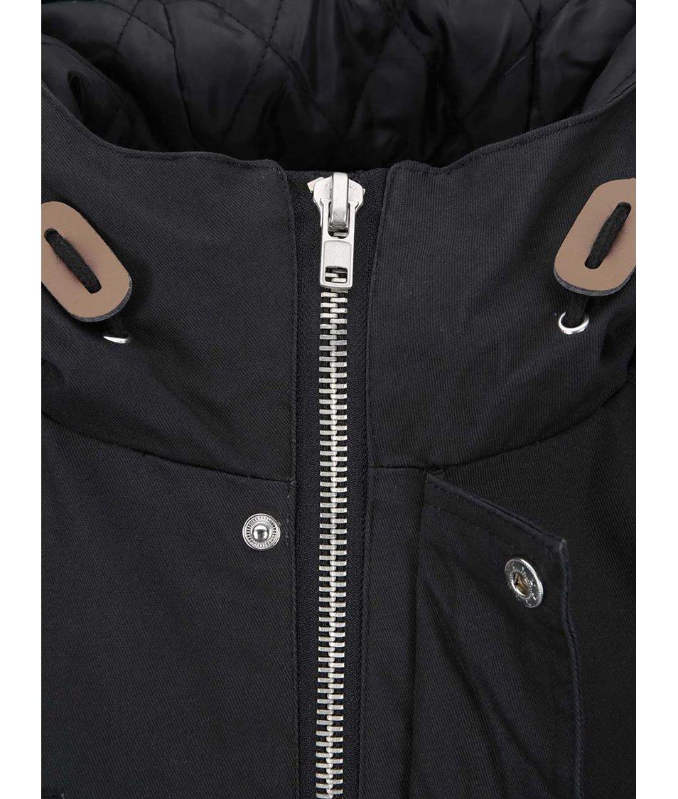 Černá zimní bunda Fat Moose Outskirts