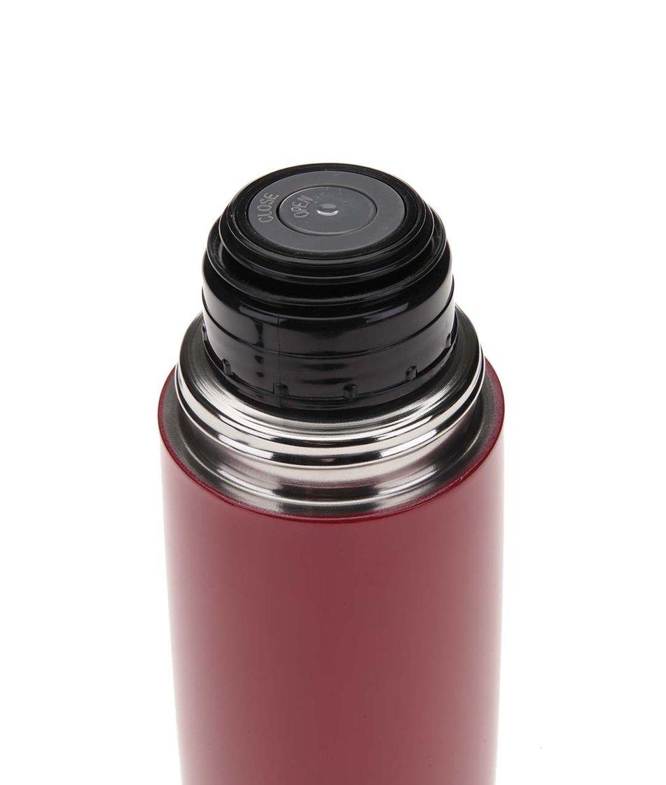 Černo-červená termoska XD Design Bopp Hot