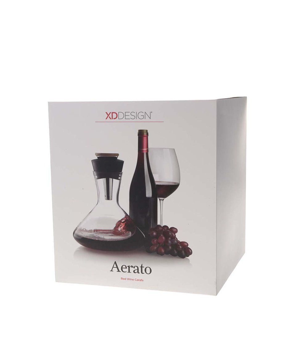 Karafa na červené víno s trychtýřem XD Design Aerato