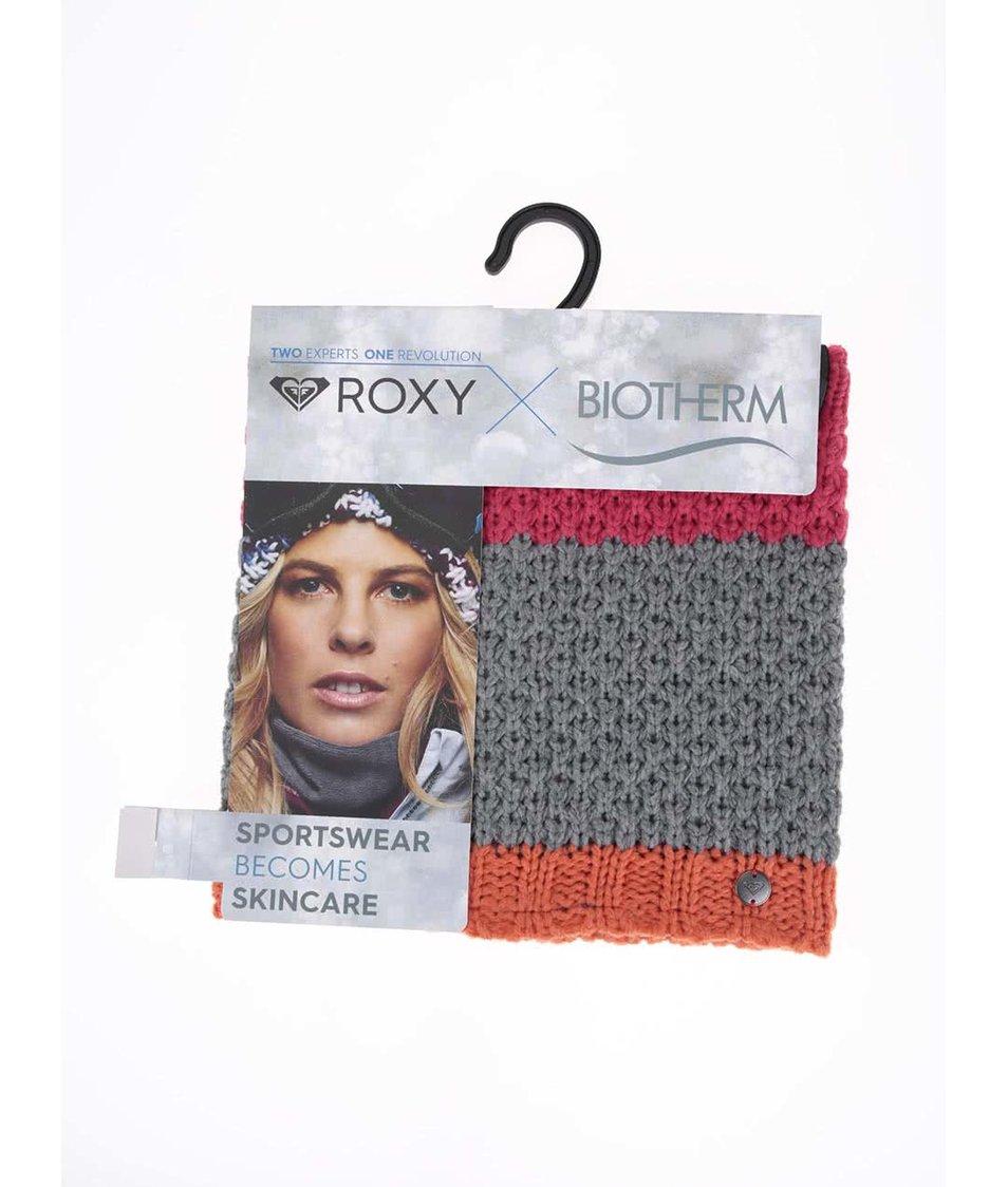 Barevný nákrčník s kosmetickou formulí Roxy From the Block