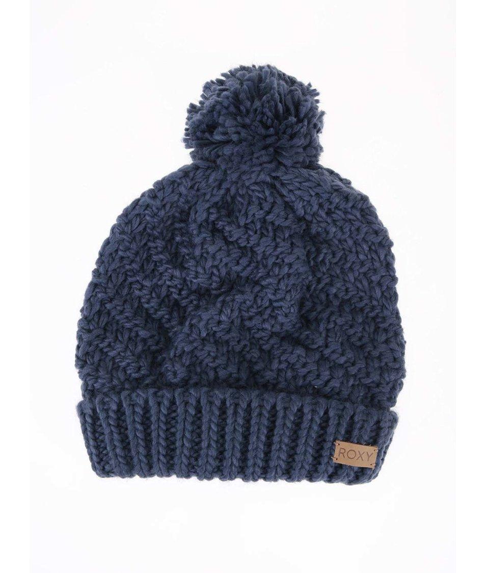 Modrá zimní čepice Roxy Blizzard