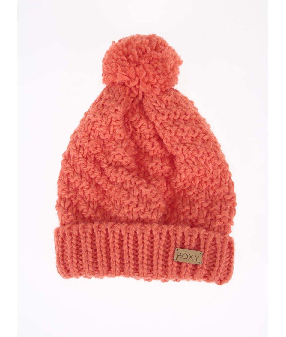 Oranžová zimní čepice Roxy Blizzard