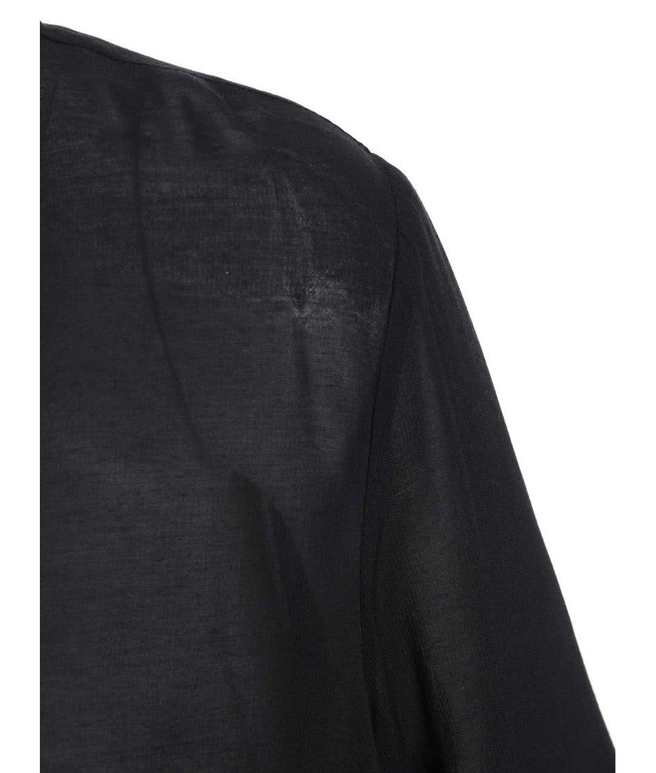 Černá dámská halenka s dlouhým rukávem s.Oliver