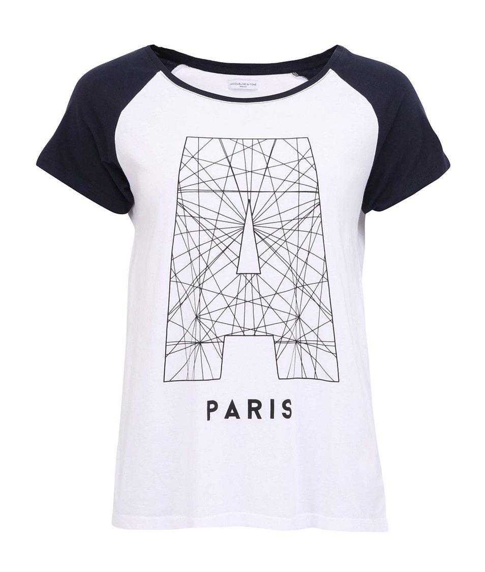 Bílé triko JACQUELINE de YONG Bombay Paris