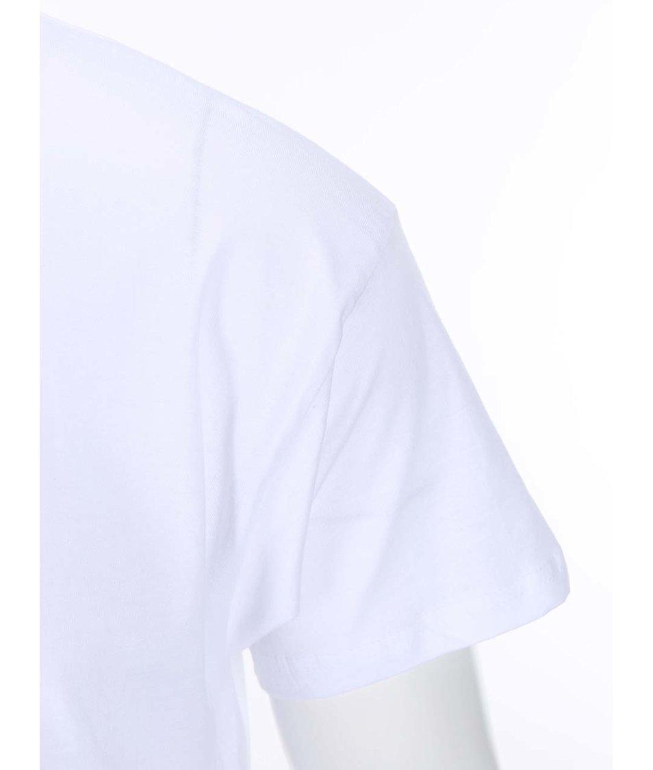 Bílé pánské triko Pavel Callta Terapeut