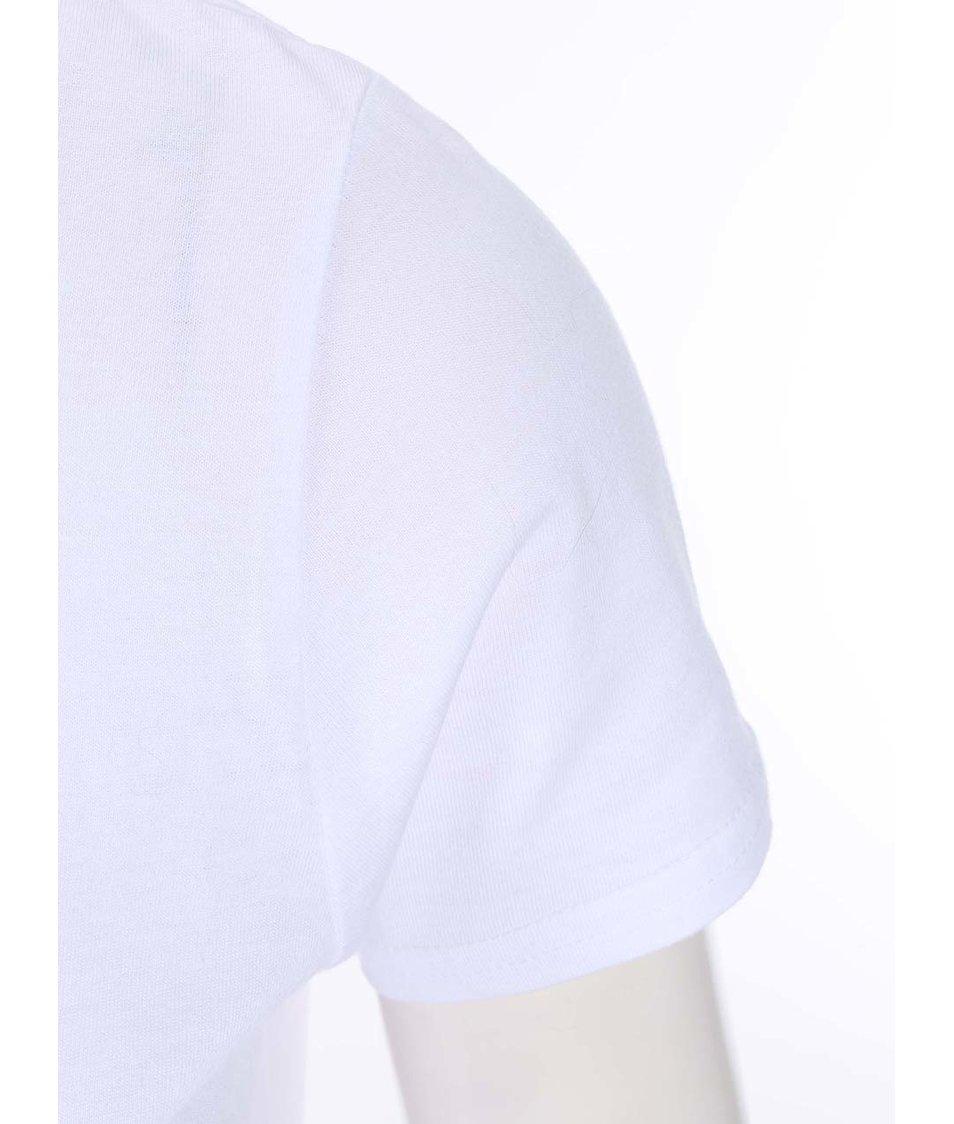 Bílé dámské tričko Pavel Callta Terapeut