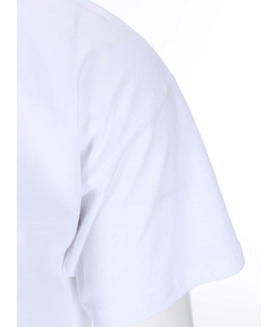 Bílé pánské triko Pavel Callta Astronaut